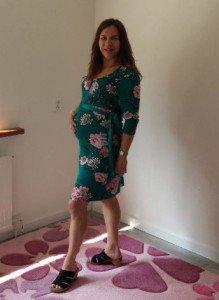 Ik toen ik 28 weken zwanger was
