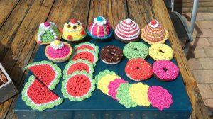 Gehaakte donuts en muffins!