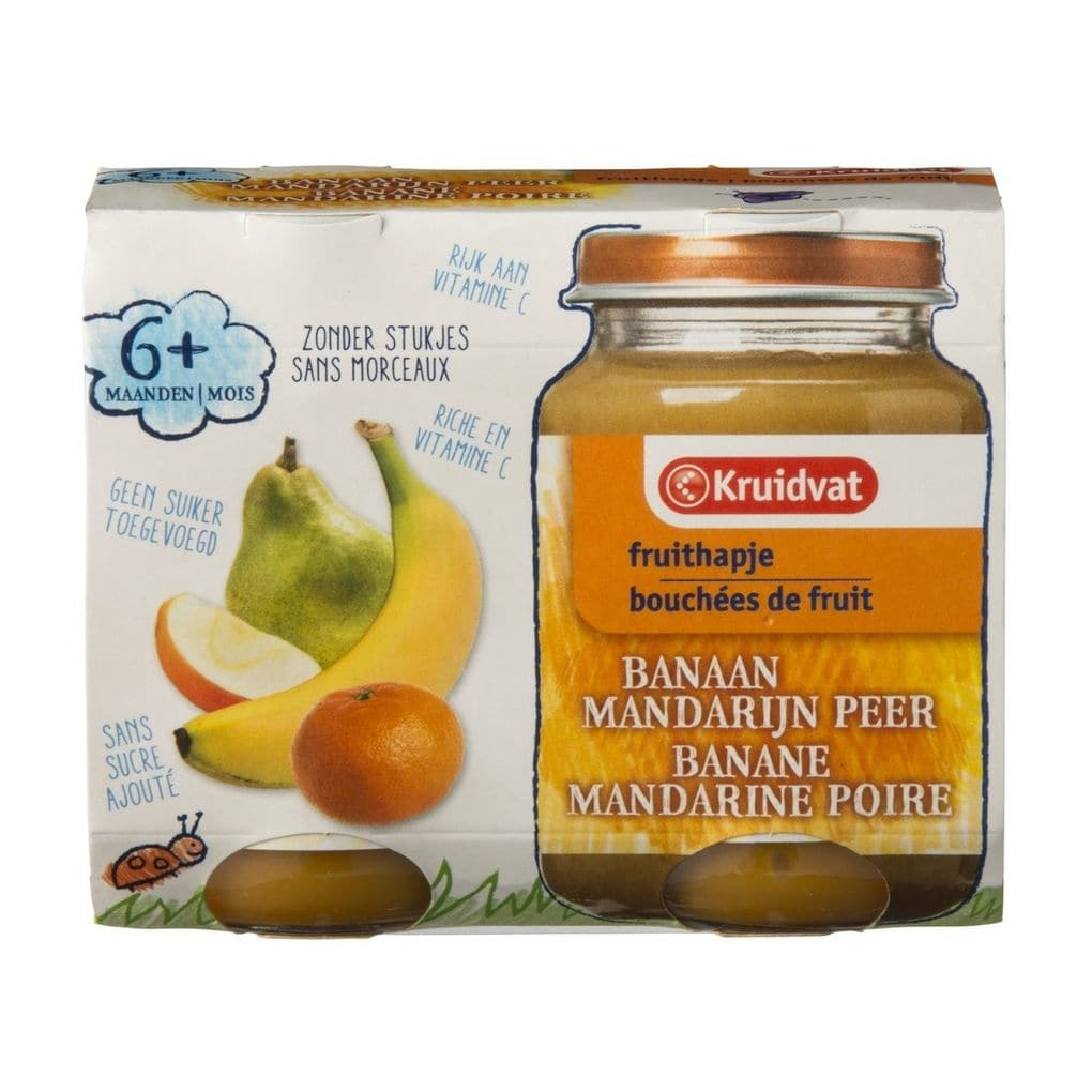 Banaan mandarijn peer